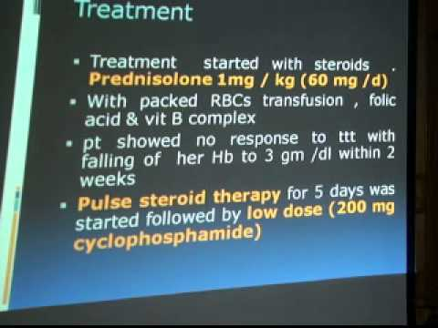 Case PresentationPlasma exchange in autoimmune hemolytic anemia