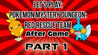 Pokemon Mystery Dungeon: Red Rescue Team - After Game - Part 1 - Luminous Cave