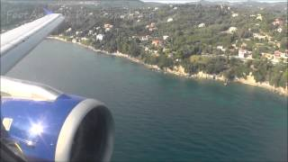 [Onboard] Condor A320-200 landing Corfu-Airport [LGKR/CFU] HAM-CFU