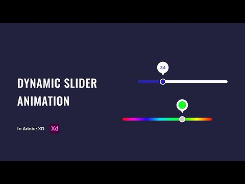 Dynamic Slider Animation in Adobe XD | Auto Animate & Drag | UI Design Tutorial [2020]