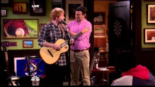 Ed Sheeran on Undateable