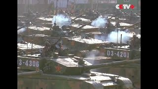 CCTV+ - China PLA Armed Forces Combat Readiness New Year Parade & Exercise 2018 [1080p]