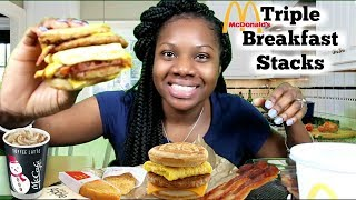Triple Breakfast Stacks Mcgriddle | Day 2| The Chomp Queen
