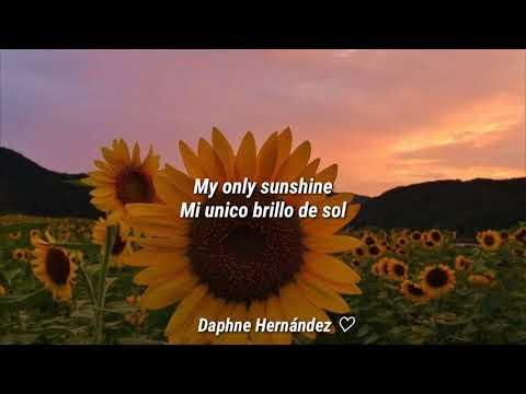 Christina Perri \\ You are my sunshine.
