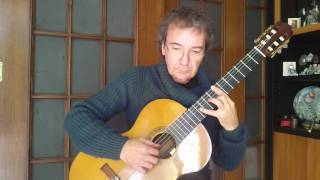 largo from concerto r 93 by a vivaldi classical guitar arrangement by giuseppe torrisi