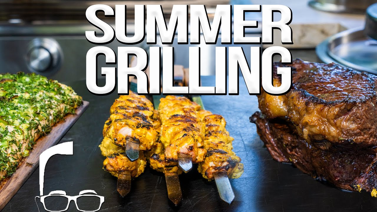 Easy Summer Grilling Recipes Sam The Cooking Guy 4k Cooking Shows