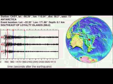 Earthquake in SOUTHEAST OF LOYALTY ISLANDS (M6.00): 2012/10/23 09:39:31 GMT