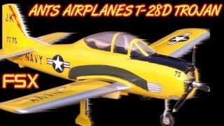 ANTS AIRPLANES T-28D TROJAN FSX HD