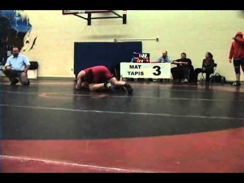2010 Ontario Junior Championships: 84 kg Scott Wheatley vs. Praill