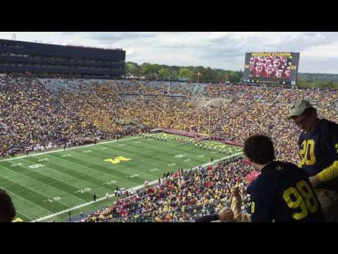 University of Wisconsin Band at Michigan Stadium