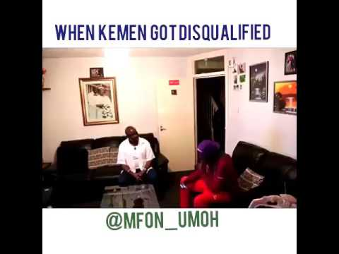 Kemen gets disqualified from BigBrotherNaija,watch what he
