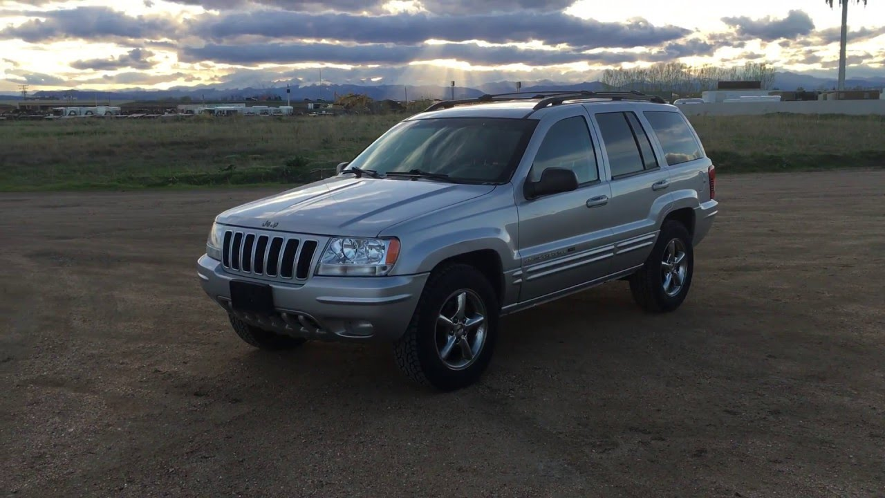 2002 jeep grand cherokee 4 7 h o overall exterior video for sale youtube 2002 jeep grand cherokee 4 7 h o