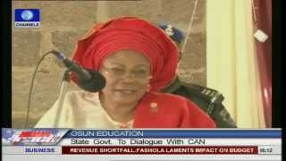 Osun state government to dialogue with CAN