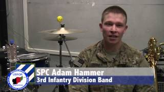 3rd Infantry Division Band Deployment
