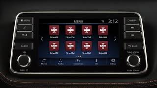 2019 Nissan Kicks - Control Panel and Touch Screen Overview