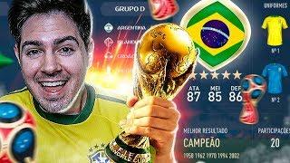 RUMO AO HEXA!!! MODO FIFA COPA DO MUNDO COMPLETO!