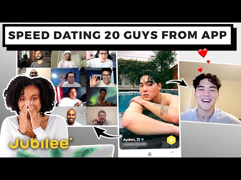 20 Vs 1: Video Chatting With 20 Guys From Dating App
