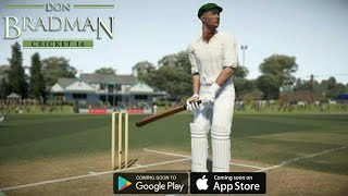 FINALLY DON BRADMAN CRICKET GAME FOR ANDROID PHONE |
