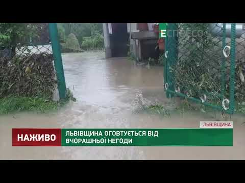 Львівщина оговтується від вчорашньої негоди