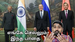 India-China Talks | Tamil | Siddhu Mohan