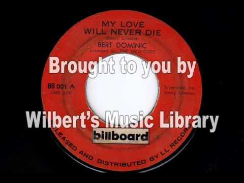MY LOVE WILL NEVER DIE - Bert Dominic