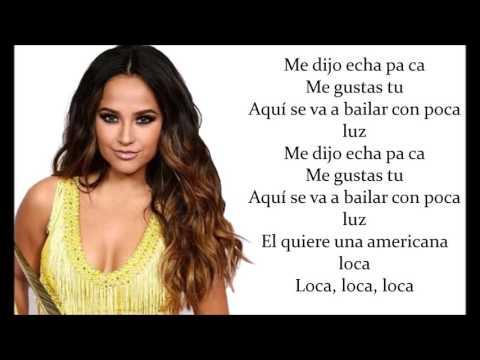 Becky G - Mangú (lyrics video)