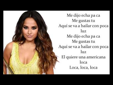 Becky G - Mangú (lyrics video)