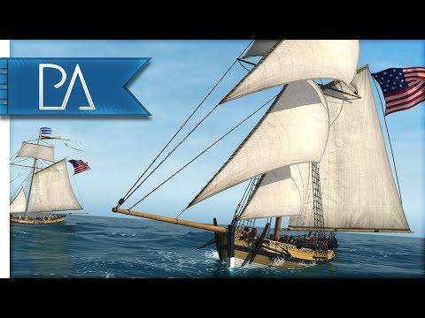 BATTLE OF CHARLESTON - United States Fleet - Naval Action Gameplay