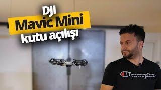 DJI Mavic Mini kutusundan çıkıyor! Ofiste uçurduk!