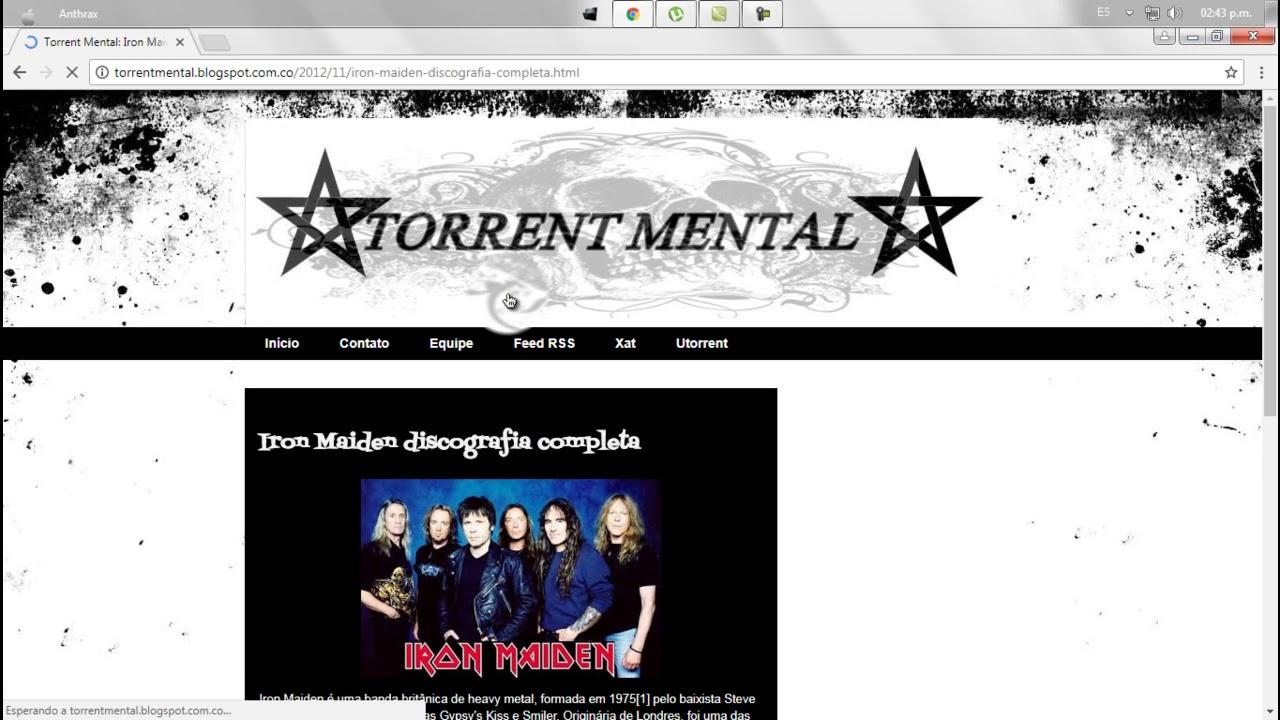 iron maiden discography torrent