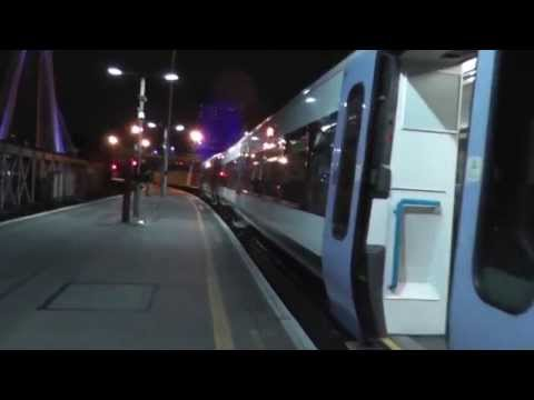 Last ever train to Westcombe Park from Charing Cross 9th January 2015