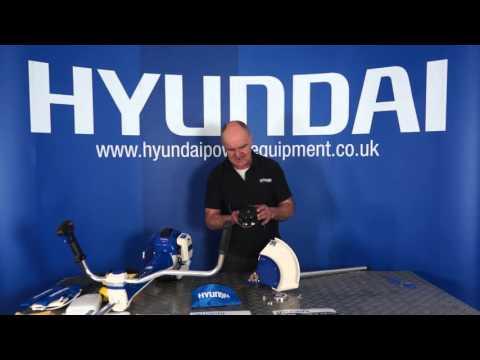 Hyundai Grass Trimmer / Strimmer /Brushcutter HYBC5080AV Out of the Box & Assembly