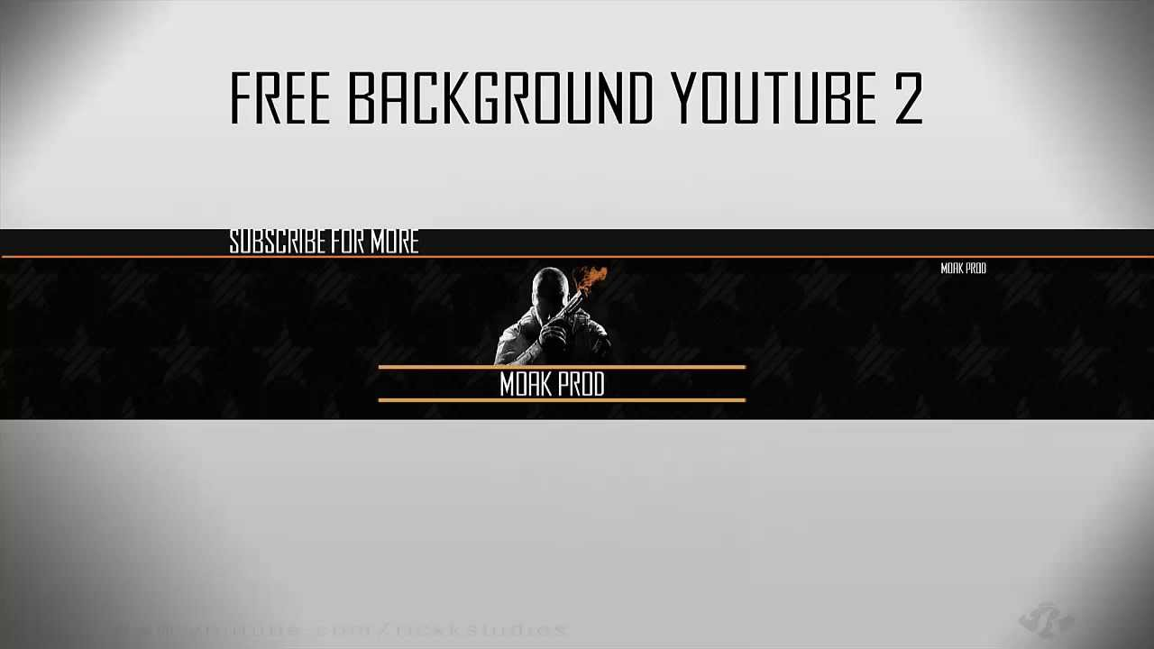 Call of Duty- Free Youtube Background Template PSD 2013 - One ...