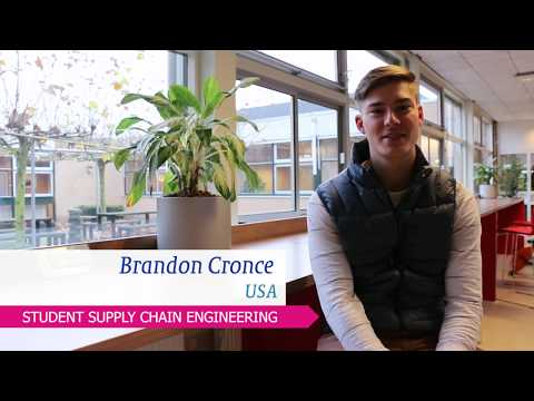 Erasmus student Brandon from the USA tells about the exchange programme Supply Chain Engineering