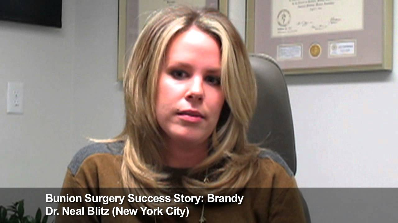 Best Bunion Surgeon New York City Success Story Brandy Dr