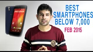 Best Smartphones under Rs. 7,000: February 2015