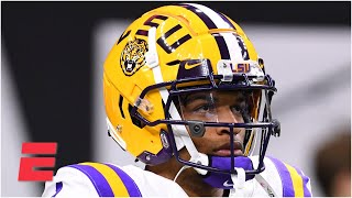 LSU WR Ja'Marr Chase to opt out of the CFB season to enter the NFL | Keyshawn, JWill & Zubin