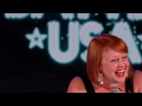 Karaoke Battle USA Meredith McHenry Its a Mans World Shortened Clip