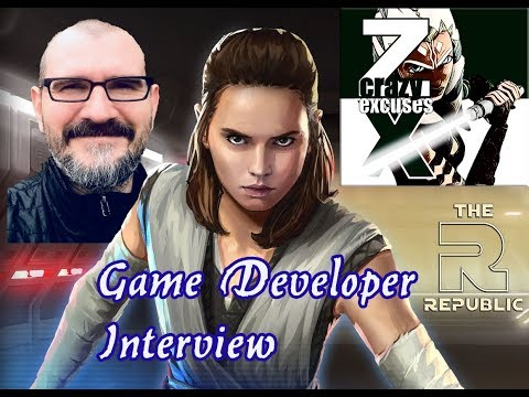 Interview w/ lead CG game designer about Rey