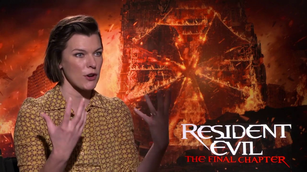 Wallpaper Milla Jovovich Ali Larter Ruby Rose Resident: Milla Jovovich Exclusive RESIDENT EVIL (2017) Interview