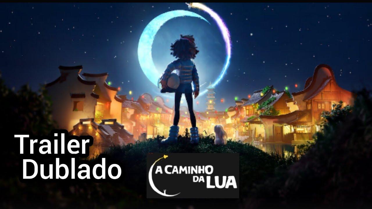 A Caminho Da Lua Trailer Dublado 2020 - YouTube