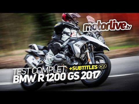 BMW R 1200 GS 2017 | TEST COMPLET [+SUBTITLES]