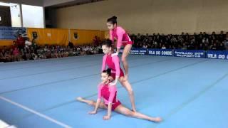 Gymnastics - Acrobatic Portuguese district championship - WG Juvenile ACM thumbnail