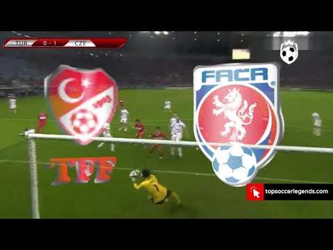 Greatest Comebacks In Soccer History : EURO 2008 Group stage Turkey 3 2 Czech Republic