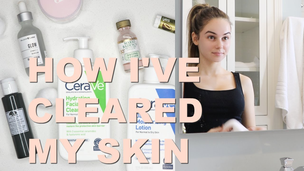 MY CURRENT SKINCARE ROUTINE - ALL THE PRODUCTS I USE! - EJB