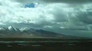 青藏线-唐古拉山脉