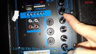 Hướng dẫn cách chỉnh loa kéo cơ bản để hát karaoke.