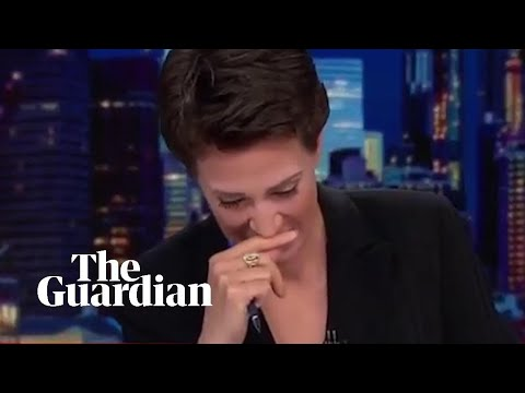 Rachel Maddow breaks down in t rachel maddow