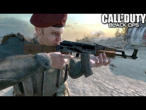 Call of Duty Black Ops Executive Order Mission Gameplay Veteran