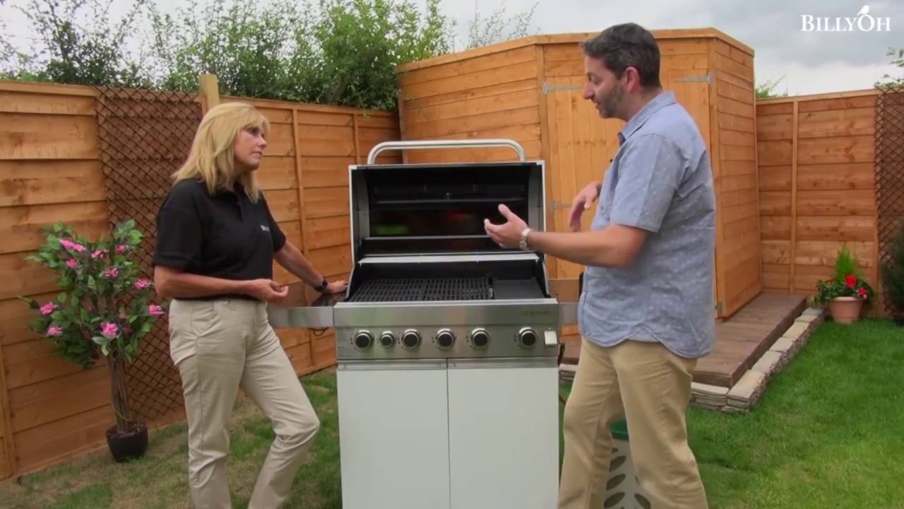 prestige gourmet 5 burner hooded gas bbq inc grillstream